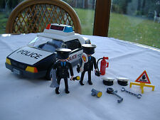 Playmobil Police Car with flashing lights (3329)