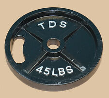 TDS Fitness 45 lb. Olympic Plates (Sold as pair)