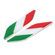 Auto Car Italy Flag Italian Emblem Stickers Decal For Ferrari Lamborghini Fiat