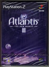 PS2 Atlantis III The New World, ( 2002 ) UK Pal, Brand New & Sony Factory Sealed