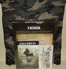 Call of Duty 4 Modern Warfare Boot Camp-SPECIALE evento giornalistico KIT Stampa SWAG BAG