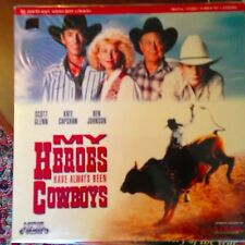 My Heros Have Always Been Cowboys  - LASERDISC  Buy 6 for free shipping