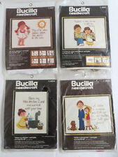 Bucilla Needlecraft Bless Kitchen Father is Someone All Your Dream 4 Sampler Kit