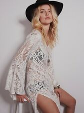 New Free People SPELL White Dove Maxi Dress Size 10