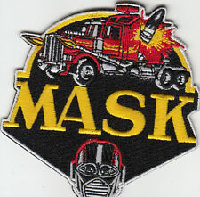 PARCHE M.A.S.K MASK 8,7X8 CMS  Mobile Armored Strike Kommand PATCH