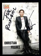 Christian Franke  Autogrammkarte Original Signiert # BC 40684