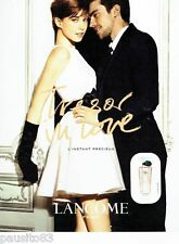 PUBLICITE ADVERTISING 116  2010   Lancome  parfum Trésor in Love Elettra Rossell