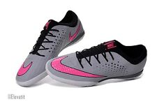 Nike Mens Mercurial X Finale Turf Soccer Cleats Grey/Pink Size 9