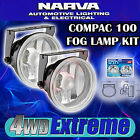 NARVA 71860 COMPAC FOG LIGHT LIGHTS LAMP KIT, BEAM 4X4 NEW 55W 55 WATT 100 12V