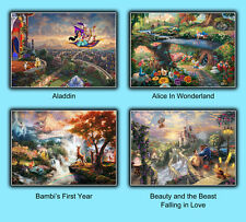THOMAS KINKADE - Disney Dreams Collection - Large Format A4 - 297 x 210 mm