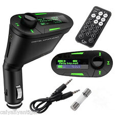T168Green In-Car Radio MP3 Music Player USB SD Card Slot Wireless FM Transmitter