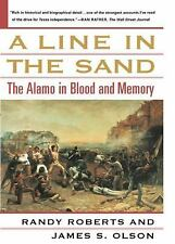 A Line in the Sand: The Alamo in Blood and Memory-ExLibrary
