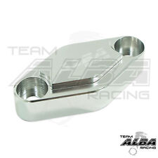 Yamaha YFZ 450 YFZ450  Parking Brake Blockoff Plate  Block off Plate  Silver