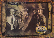 XENA BEAUTY AND BRAWN XENA SCROLLS CARD XS4