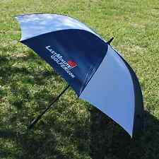 Last Minute Golfer - Golf Umbrella BLUE & WHITE - NEW
