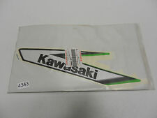 ORIGINAL Kawasaki KLX125 Dekor Aufkleber Verkleidung links sticker side Fairing