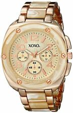 XOXO XO5647 Bone and Rose Gold Bracelet Analog Watch