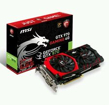 4gb MSI GTX 970 Gaming Twin Frozr V PCIe 3.0 (x16) 7010mhz GDDR 5