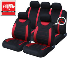 NISSAN MICRA HATCBACK 03-10 Red Carnaby Luxury Full Set Car Seat Covers