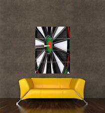 POSTER PRINT GIANT SPORT LIESURE PHOTO ELECTRIC DARTBOARD DARTS BULLSEYE PAMP266