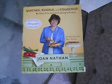 QUICHES, KUGELS,& COUSCOUS -Jewish Cooking in France Cookbook AUTOGRAPHED COPY