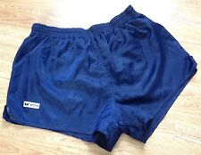 VINTAGE SPRINTER ERIMA RUNNING SHORTS HIGH CUT IBIZA SATIN GLANZ RETRO UK M