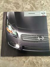 "2009 NISSAN CARS/TRUCK/SUV's ""Full Line"" 36-page Original Sales Brochure"