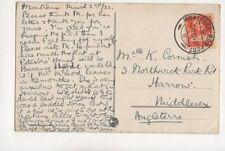 Miss K Cornish Northwick Park Road Harrow 1917 297b