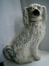 Victorian Staffordshire pottery figure Spaniel Wally dog C1890