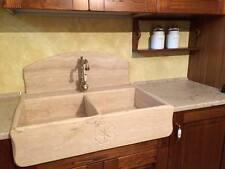 lavandino lavello lavabo cucina in pietra 2 vasche