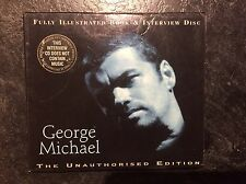 George Michael Interview Disc & Illustrated Book (CD) The Unauthorised Edition