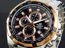 IMPORTED CASIO EDIFICE MENS WRIST WATCH EF-539D-1A5VDF Copper Authentic