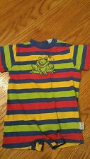 Cute striped frog outfit size 18mths