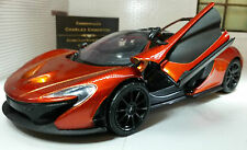 1:24 Scale McLaren P1 Detailed Motormax Diecast Model Car 79325 Volcano Orange