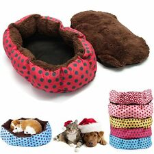 Washable Pet Dog Puppy Cat Soft Warm Cozy Bed House Nest Mat Pad Cushion Blanket