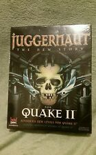 Juggernaut: The New Story Quake II Expansion Software Big Box Brand New Sealed