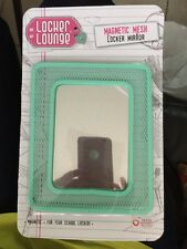 New Locker Lounge Magnetic Locker Mesh Mirror Light turquoise