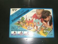 1983 VINTAGE SMURF POP UP BOOK DIORAMA VILLAGE HOUSES PEYO POPORAMA