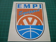 EMPI Equipped Sticker -  VW Surfbus Beetle Buggy