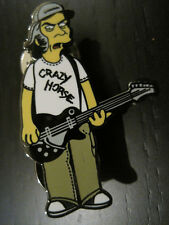 "Neil Young Simpsons 1.5"" PIN Crazy Horse - Hard Enamel LIMITED Edition CSNY"