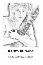 Adult Coloring Book: Randy Rhoads Coloring Book : Legendary Guitarist and...