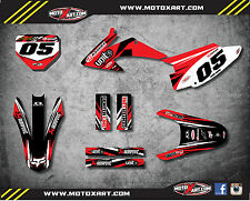 Honda CRF 150 F 2003 - 2007 Custom Graphic kit DIGGER style decals / stickers
