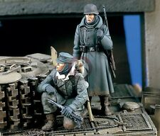 "Verlinden 1/35 ""Tank Riders II"" German Tank Desant WWII (2 Figures) [Resin] 1445"