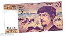 """France Billet 20 FRANCS DEBUSSY 1987 """" 765222  F.022 """"  NEUF UNC"""