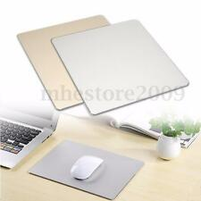Fashion Aluminum Mousepad Game Super Smooth Mouse Pad for Macbook Apple HP Dell