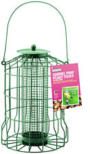 GARDMAN GUARD BIRD PEANUT FEEDER SQUIRREL PROOF GARDEN HANGING TRAY A01621