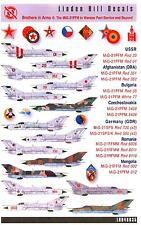 Linden Hill Decals 1/48 MIKOYAN MiG-21 FISHBED in Warsaw Pact Service Part 4