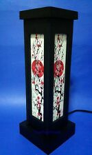 Asian Oriental Japanese Sakura Cherry Blossom Art Bedside Table DIY Lamp