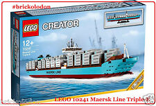 LEGO Creator Maersk Line Triple-E Container Ship 10241 Exclusive New Sealed