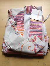 Kimono »Misty« von Bassetti, Gr.S/M, Mako-Satin, 100% Baumwolle, hellgrau-pink